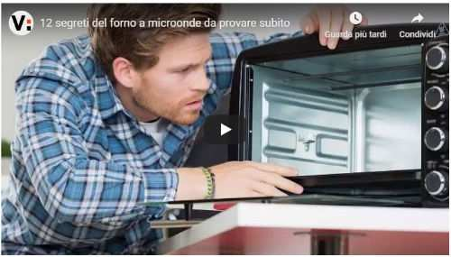 12 segreti del microonde