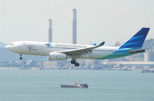 Garuda Indonesia incidenti