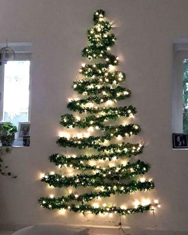 albero natale parete decorativa