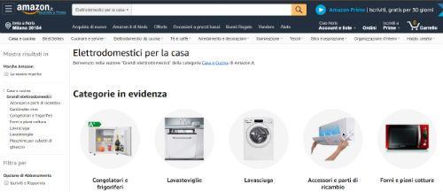 amazon elettrodomestici