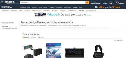 amazon videogiochi