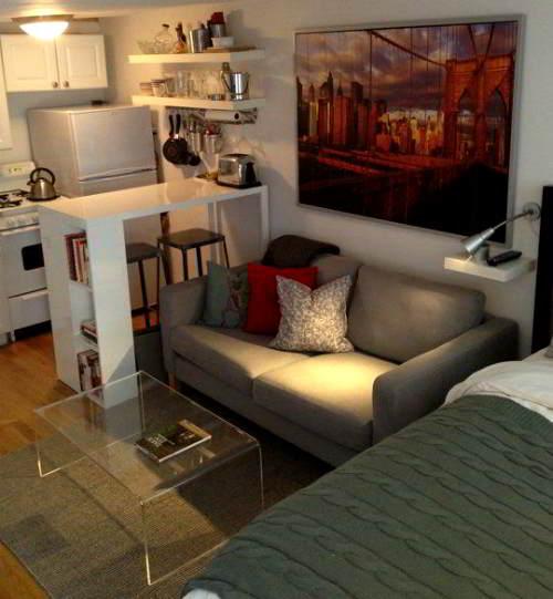 Arredo mini appartamento 37 soluzioni per vivere in poco for Soluzioni arredo monolocale