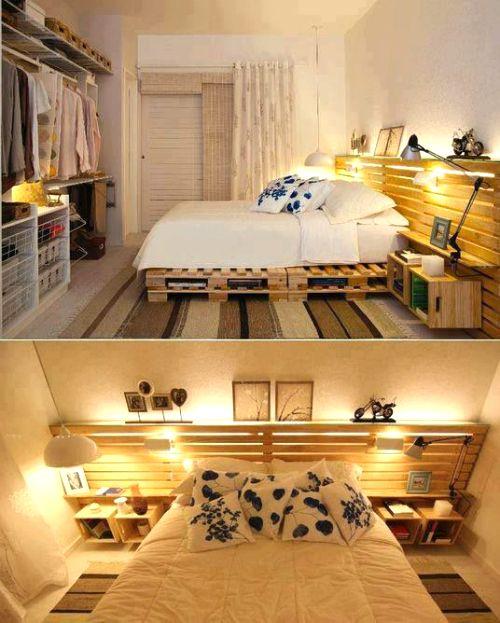 Realizzare un letto con i pallet