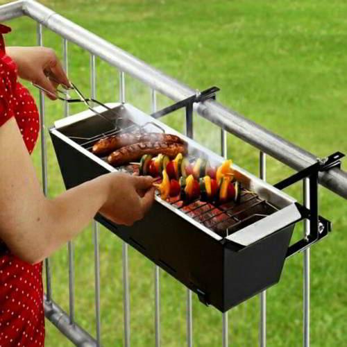 barbecue balcone