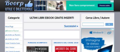 booorp ebook gratuiti