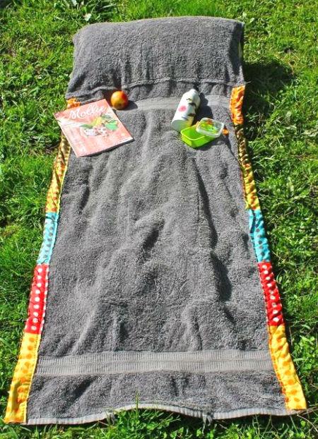 borsa asciugamano spiaggia