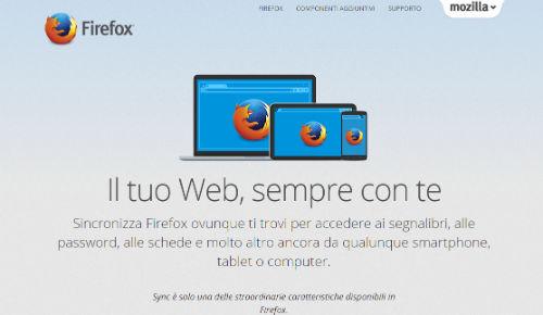 sincronizzare browser con cellulare