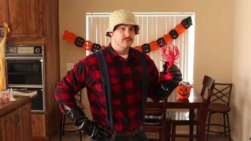 halloween o carnevale uomo idee