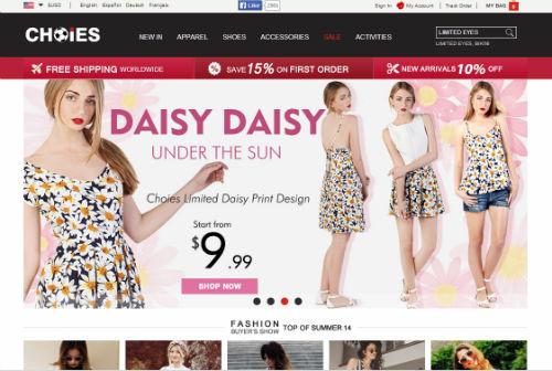 Choies - outlet abbigliamento straniero