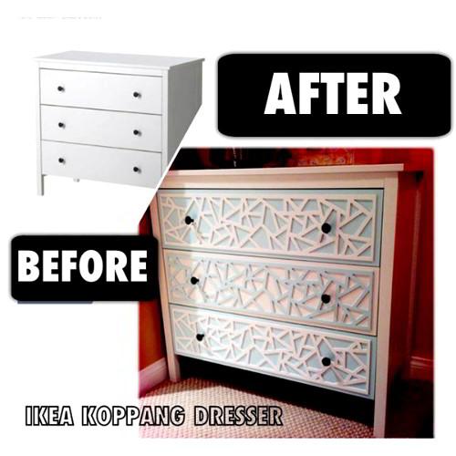 trasformare cassettiera Ikea