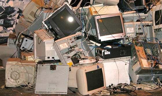 computer vecchio idee riciclo