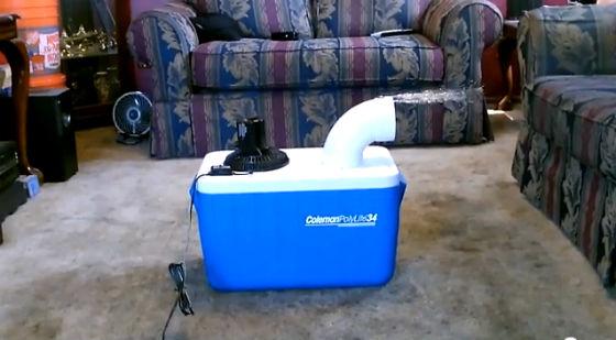 Condizionatore fai da te che raffredda e costa meno di - Condizionatore perde acqua dentro casa ...