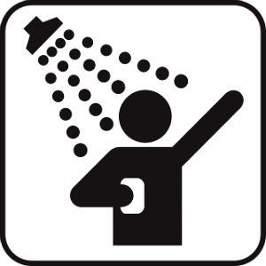 doccia invece del bagno
