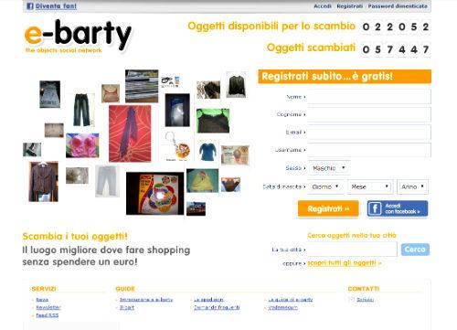 E-Barty - scambio oggetti
