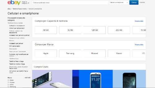ebay cellulari negozi