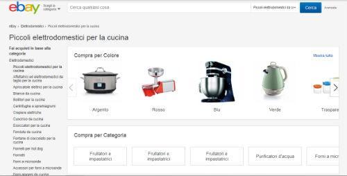 ebay elettrodomestici