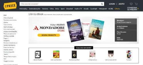 eprice vendita libri