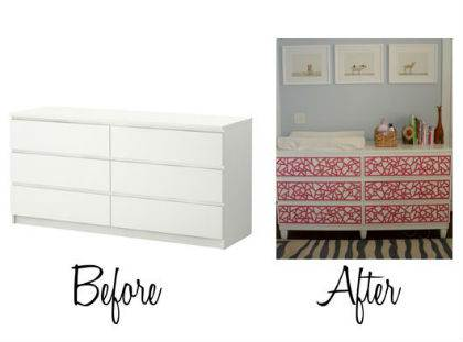 Ikea mobili esempio riciclo