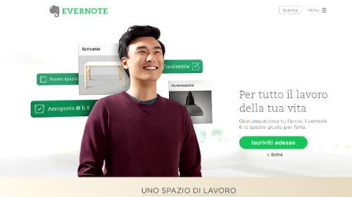 evernote - sincronizza appunti