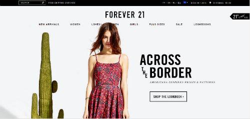 forever21 - comprare online abiti moda scontata