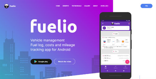 fuelio app