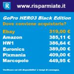 gopro hero3 prezzo
