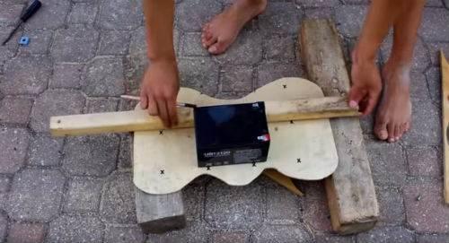 hoverboard fai da te