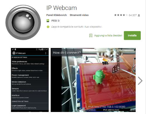 ip webcam download