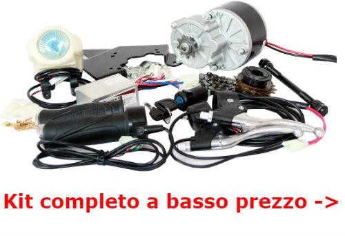 kit conversione bici elettrica