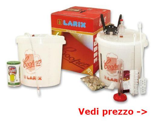 kit birra per fermentazione