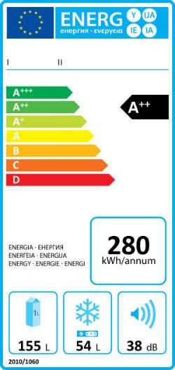 leggere etichetta lavatrice energia
