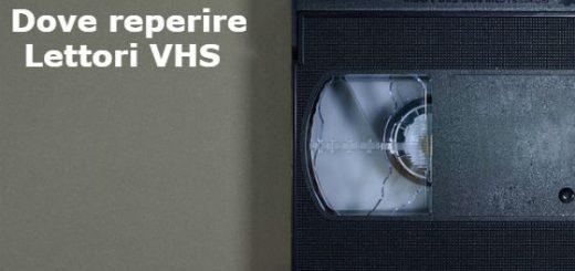 dove comprare lettori VHS
