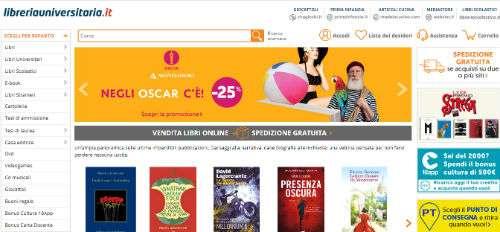 libreria universitaria on line