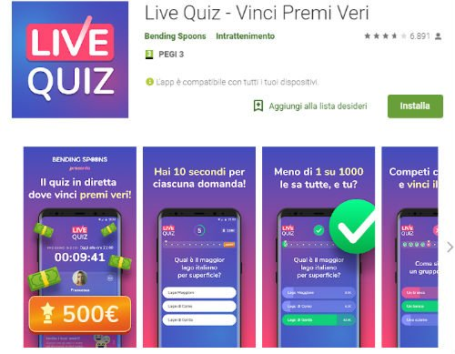 live quiz buoni amazon