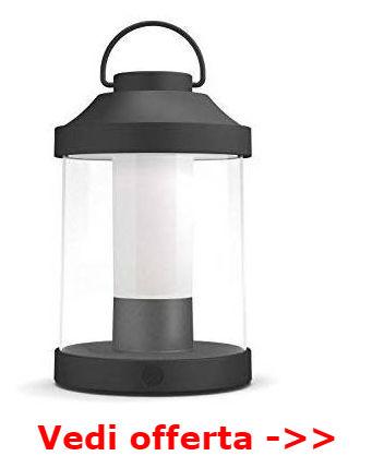 luce esterna senza corrente