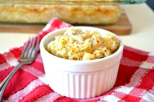 avanzi maccheroni formaggio al forno