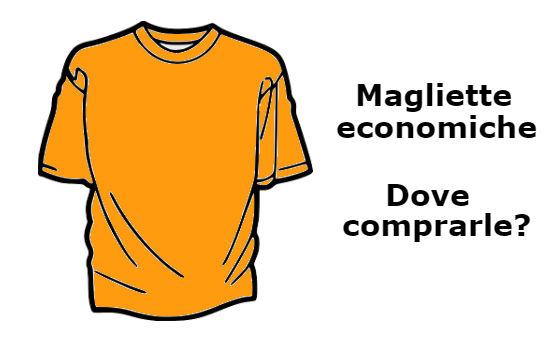 t-shirt economiche