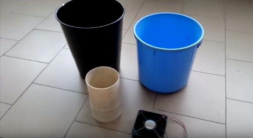 materiali per costruire un ventilatore
