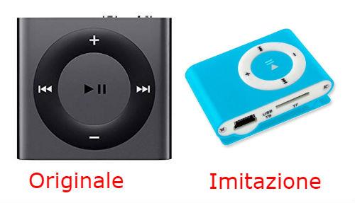 imitazione ipod shuffle