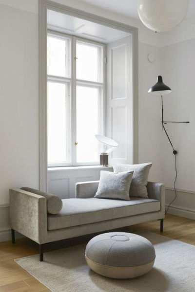 divano stile minimal