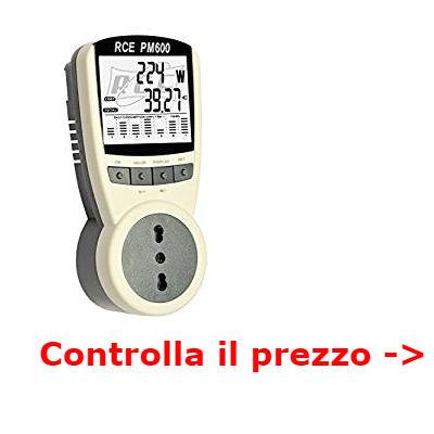 misurare consumi elettrodomestici