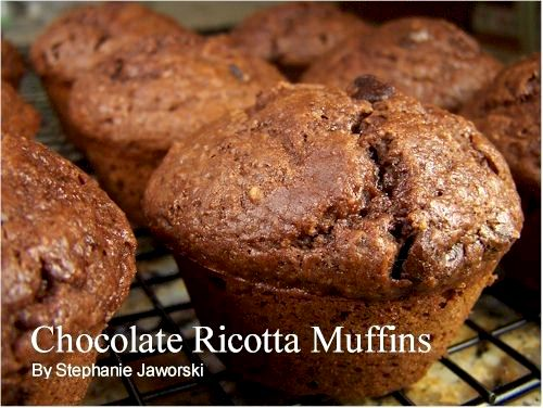 muffin cioccolato e ricotta