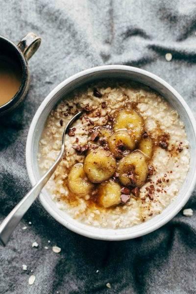 porridge avena colazione