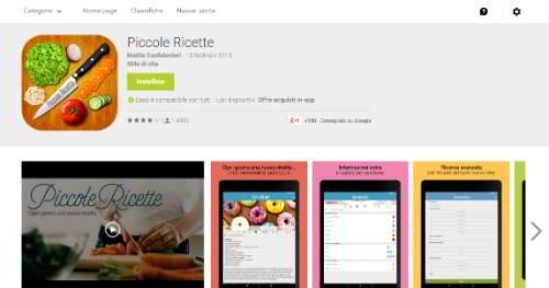app ricette economiche