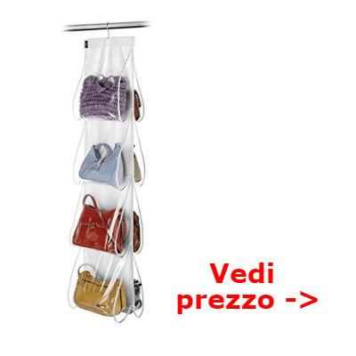 ordinare borse nell'armadio