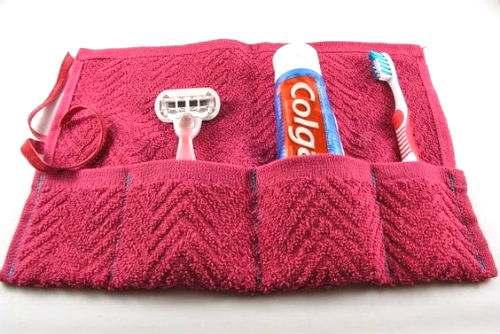 porta oggetti bagno asciugamano