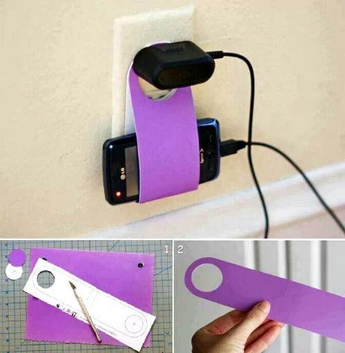 porta cellulare fa da te idee