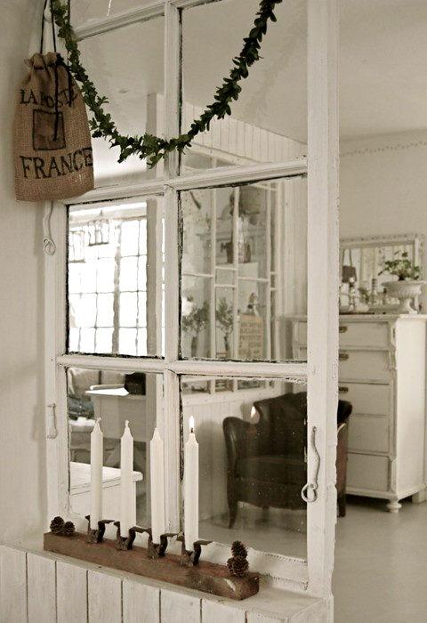 riciclare finestre divisorio casa
