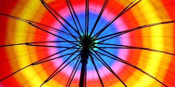 Riutilizzare vecchi ombrelli