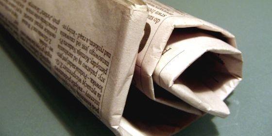 Idee riciclo vecchi giornali